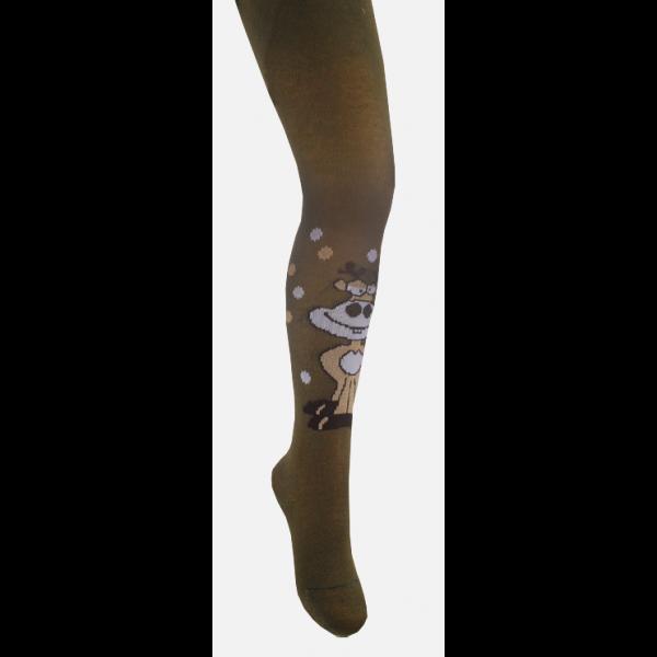 Колготки детские КД-0037 (коричневый)
