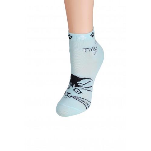 Носки детские НД-1046-40 (голубой)
