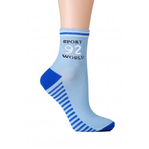 Носки детские НД-1051-40 (голубой)