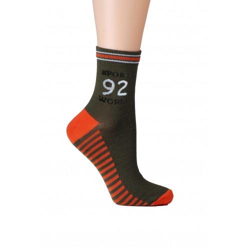 Носки детские НД-1051-40 (хаки)